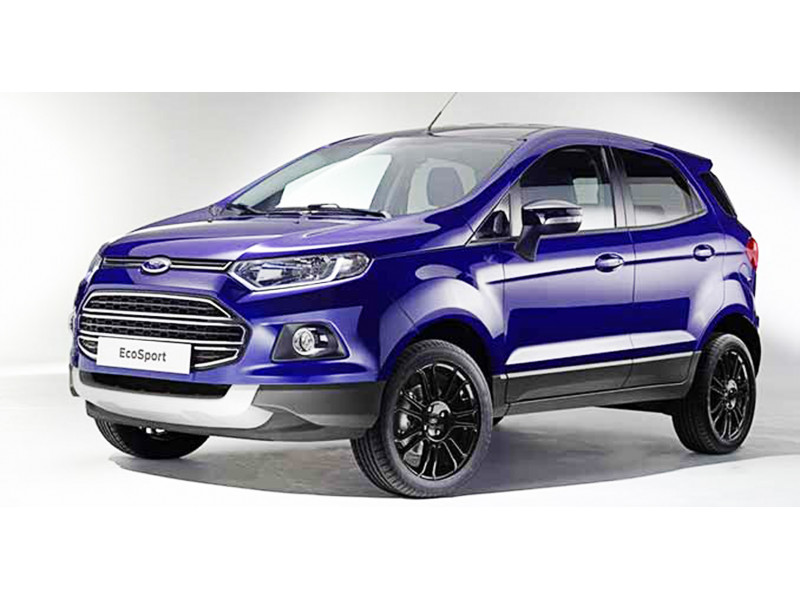 Ford EcoSport Facelift  sc 1 st  CarTrade : ford diesel cars price list - markmcfarlin.com