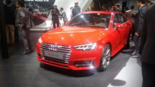 2016 auto expo all new generation of the audi a4 unveiled